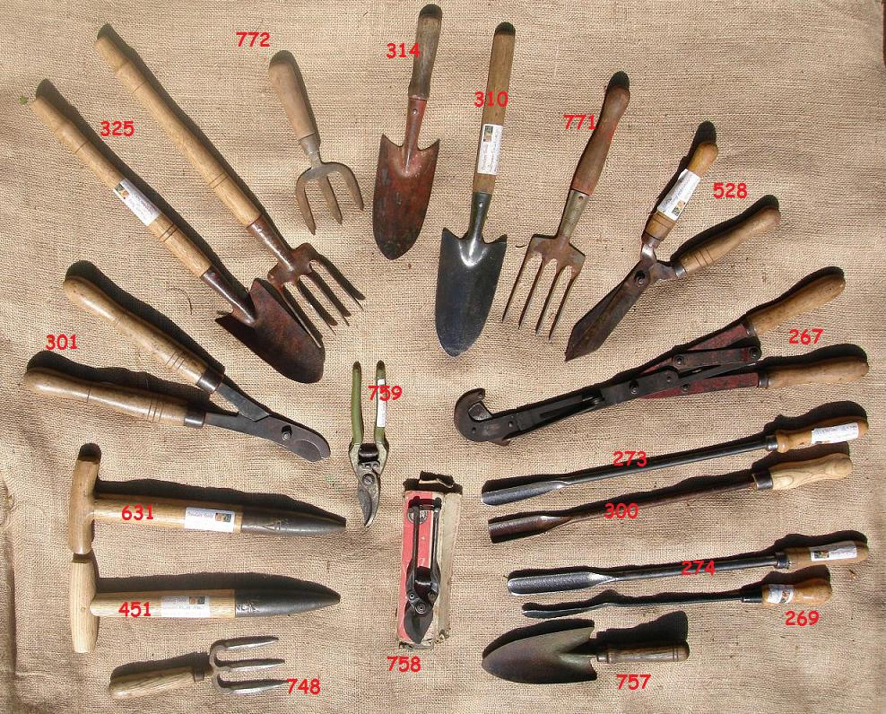 Garden tools for Tools for backyard gardening